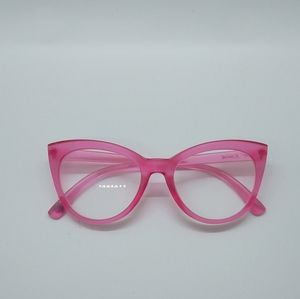 Betsey Johnson Frosted Pink Reading Glasses +1.50